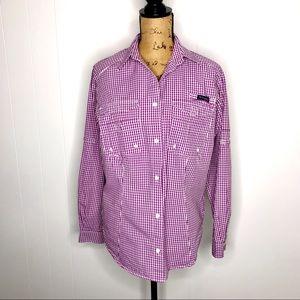 Columbia Super Bonehead Woman's L/S Shirt-Size M